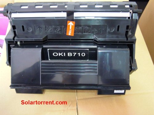 Oki Black Toner Cartridge for B710/720/730 Series, 52123601, 18,000 Pages, N/DN Series, Office Central