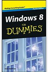 Windows 8 For Dummies, Pocket Edition Kindle Edition