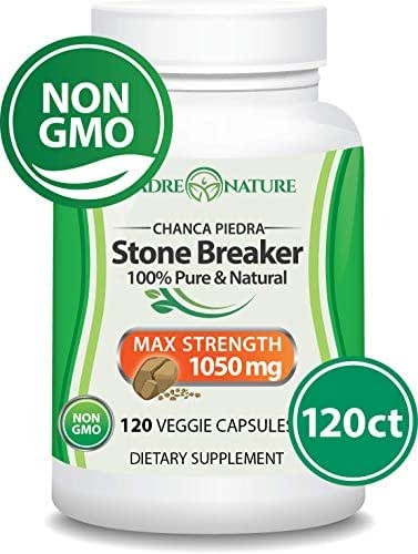 100% Pure Chanca Piedra (Stone Breaker) Supplement - Max Strength 1050 milligrams - (Vegan) - from Amazon Rainforest - Gluten-Free - Non-GMO