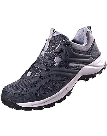 CAMEL CROWN Zapatillas de Senderismo para Hombre Zapatos de Trekking  Transpirable Antideslizantes Zapatos de Deporte Caminar 0c10e021ad32