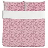 Love The Unusual Duvet Bed Set 3 Piece Set Duvet Cover - 2 Pillow Shams - Luxury Microfiber, Soft, Breathable