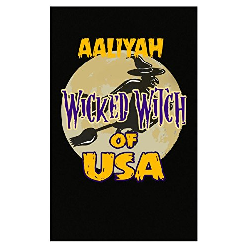 Halloween Costume Aaliyah Wicked Witch Of Usa Great Personalized Gift - Poster (Aaliyah Halloween)