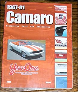 1967-81 Camaro Restoration Parts and Accessories: Year One