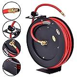 3/8'' x 25' Auto Rewind Retractable Air Hose Reel Compressor 300 PSI ,New