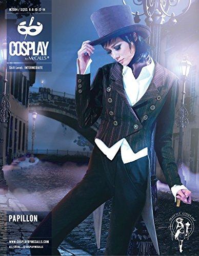McCalls Cosplay Ladies Sewing Pattern 2084 Papillon Swallowtail Coat & Short Coat]()