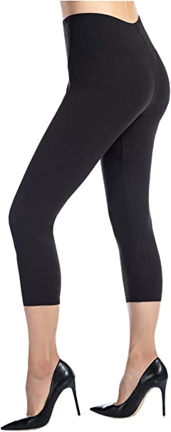 Ndoobiy Womens Leggings Super Soft Yoga Pants Regular and Plus Size