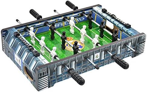Real Madrid - Mini Futbolín Estadio Santiago Bernabéu, Multicolor ...
