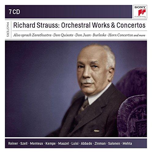 Richard Strauss: Orchestral Works An D Concertos