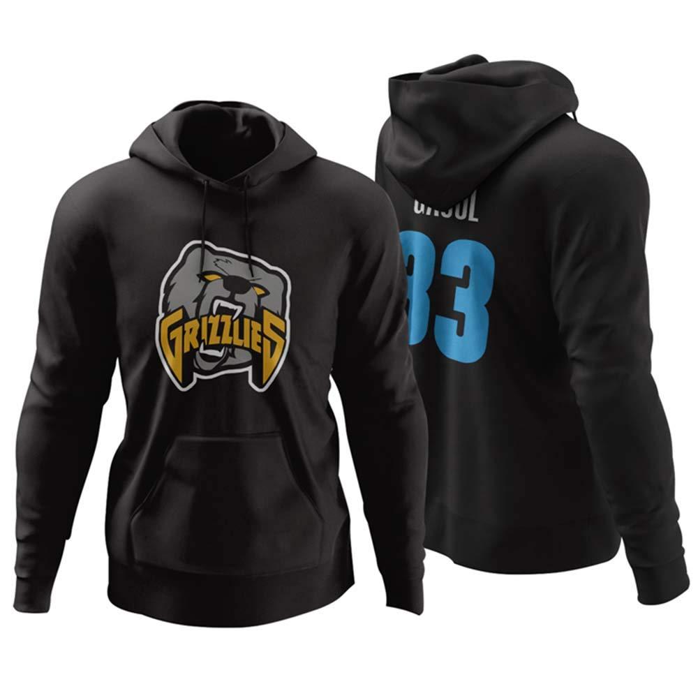 Venccl NBA Memphis Grizzlies 33 Marc Gasol Sweater Sudadera con ...