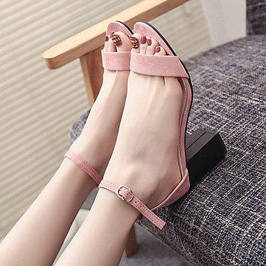 SHOES-XJIH&Zapatillas Unisex Flip-Flops par de zapatos de suela ligera tul verano otoño casual azul ligero rubor rosa fucsia Azul Gris 1A-1 3/4in,rubor rosa,US5.5 / UE36 / UK3.5 / CN35