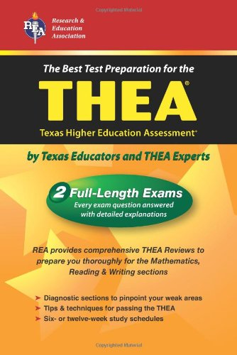 THEA (REA) - The Best Test Prep for the Texas Higher Education Assessment (Test Preps)