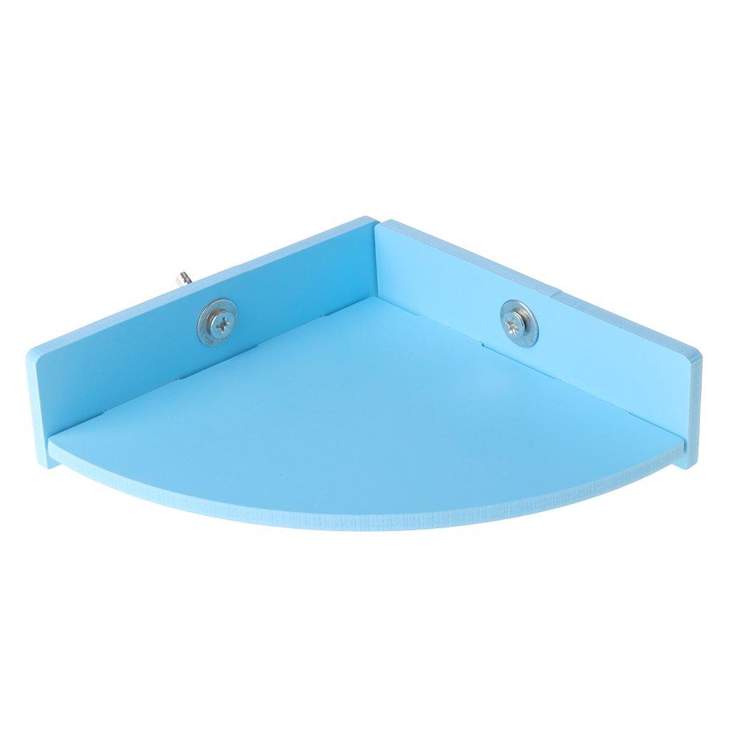 Longsw Plate-Forme De Hamster Perche Pet Parrot Stand Rack Jouets Cage De Rat Squirrel Springboard