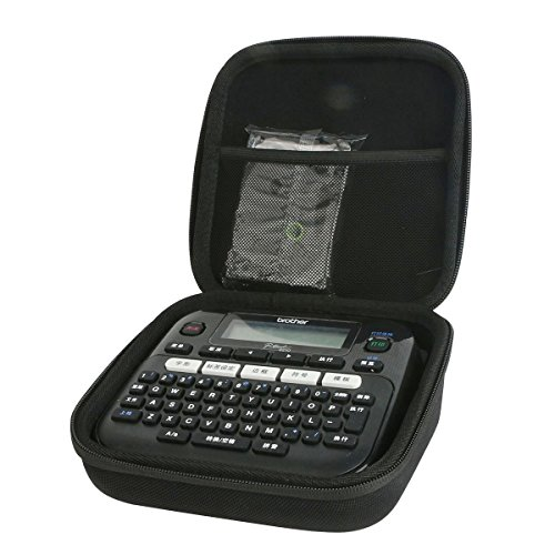 For Brother P-Touch PT-D210 Label Maker Portable Case by (Compact Handheld Labeler)