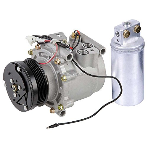 AC Compressor w/A/C Drier For Saab 9-3 2000 2001 20002 2003 - BuyAutoParts 60-86017R2 NEW