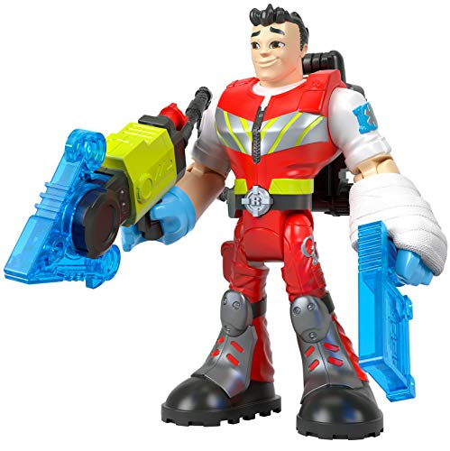 Fisher-Price Rescue Heroes Reed Vitals, 6-Inch Figure with Accessories
