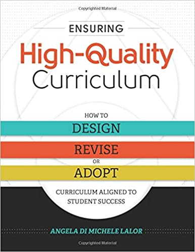 Ensuring High Quality Curriculum How To Design