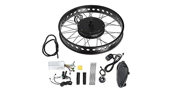 Jacksking Kit de Motor de Bicicleta eléctrica, aleación de ...