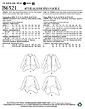 Butterick Patterns Misses' Top with Asymmetrical