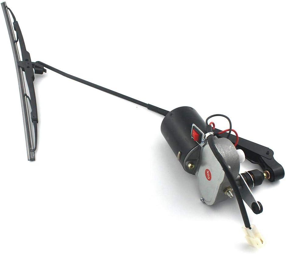 vap26 Kit de Moteur dessuie-Glace 12V pour essuie-Glace /électrique Universel pour Polaris Ranger