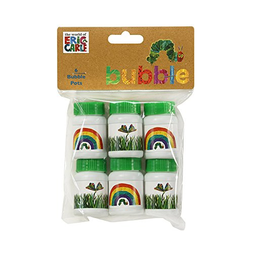 Kids Birthday Party Supplies & Decorations Party Favor Bubble Pots Eric Carle Very Hungry Caterpillar 12 Count