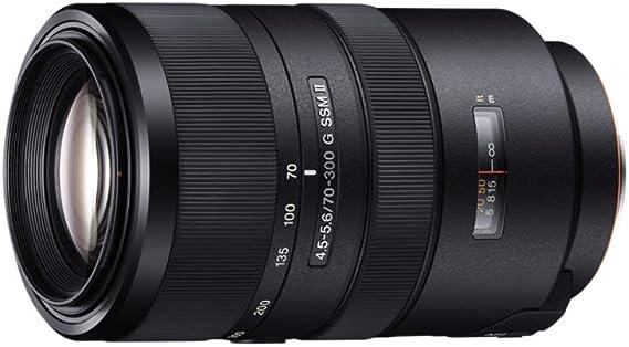 Sony SAL70300G2 - Objetivo para cámara réflex para Sony A-Mount ...