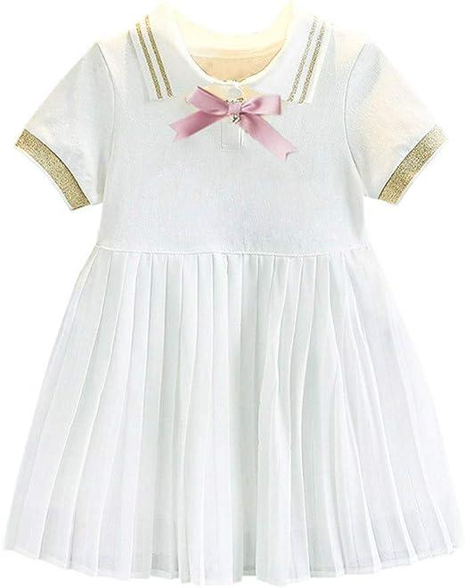 Toddler Baby Girls Kids Cat Printed Long Sleeve Cotton Skater Casual Swing Dress