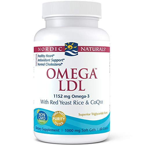 Nordic Naturals - Omega LDL, With Red Yeast Rice & CoQ10, 60 Soft Gels