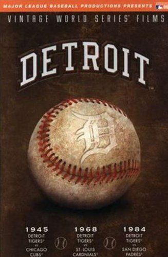 MLB Vintage World Series Films - Detroit Tigers 1945, 1968 & 1984 by A&E