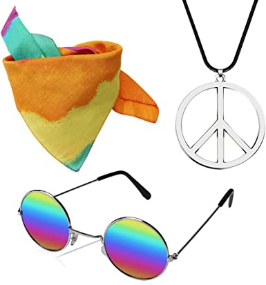 Silver Woodstock Retro Hippie Hippy Peace Pendant Black Leather Surfer Necklace
