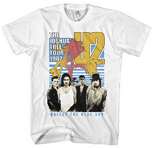U2 - The Joshua Tree Tour 1987 - Adult T-Shirt - Large, used for sale  Delivered anywhere in USA
