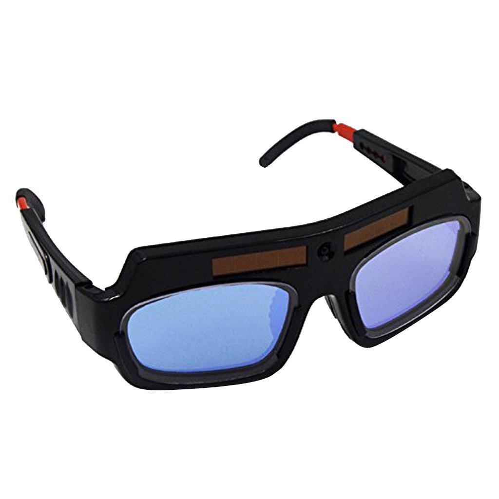SM SunniMix 2PCS Solar Darkening Welding Glasses Goggles MASK Helmet ARC Eye Protection