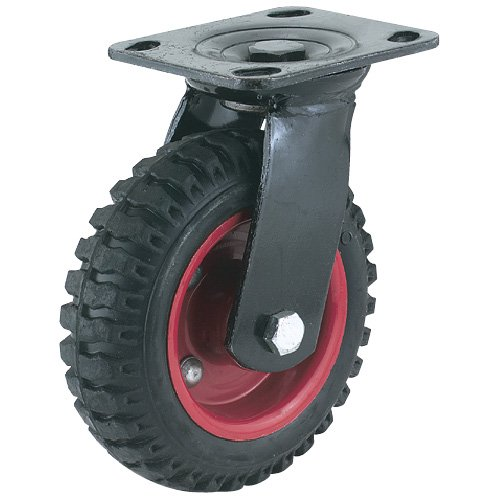 Steelex D2581 Swivel Heavy Duty Industrial Wheel, 8-Inch ()