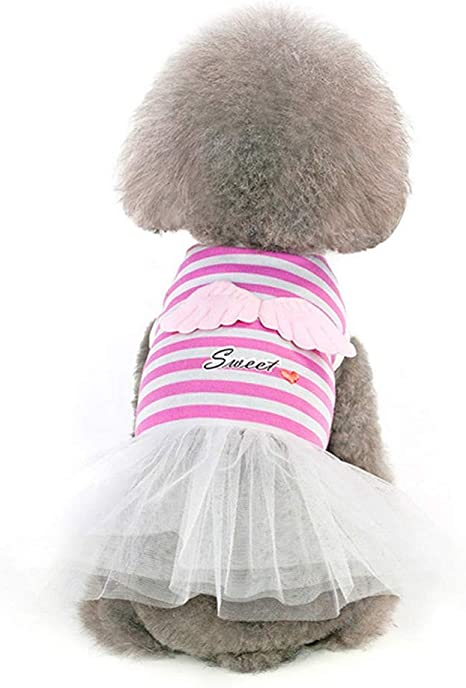 Mascotas Vestidos De Cachorros Ropa Vestido Lindo Y Dulce ...