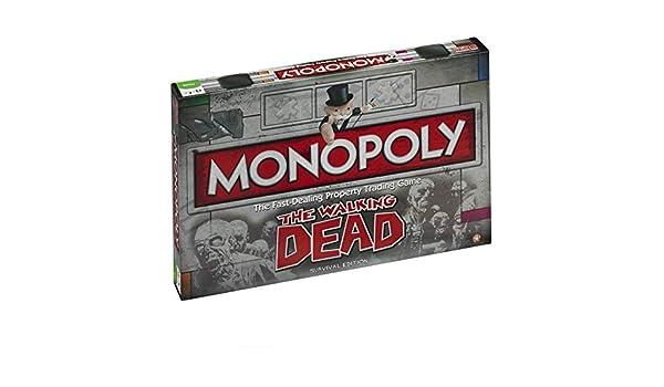 The Walking Dead - Monopoly versión EN INGLÉS (Talla Única/Multicolor): Amazon.es: Ropa y accesorios