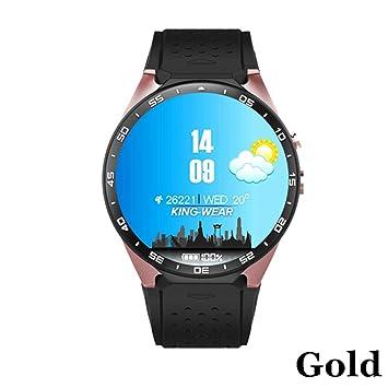 LCDIEB Reloj Deportivo GPS Smart Watch 3G WiFi 1.39 Pulgadas ...