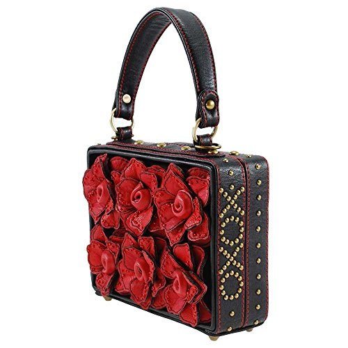 Frances Roses 3 D Multi Love Top Handle Mary Bag Story aAUHZqZ