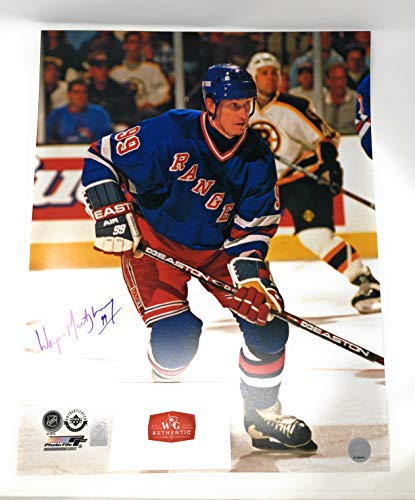 Wayne Gretzky New York Rangers Signed Autograph 16x20 Photo Photograph WGA Gretzky Authentic ()