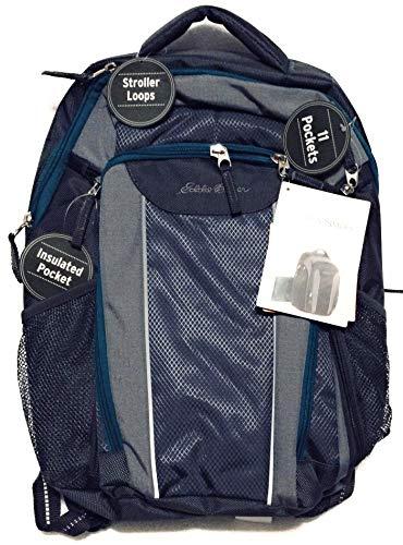 Diaper Bag Eddie Bauer Backpack Grey/Turquoise
