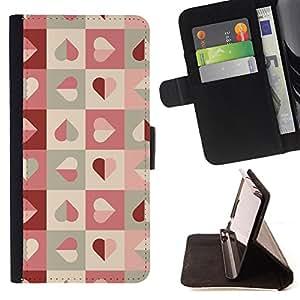King Case - FOR Samsung Galaxy S4 IV I9500 - The most beautiful thing - Prima caja de la PU billetera de cuero con ranuras para tarjetas, efectivo Compartimiento desmontable y correa para la mu?eca