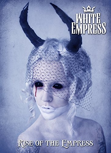 Rectangle Refrigerator Magnet - White Empress SHE Devil Horned