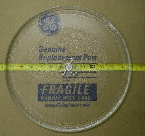 General Electric WB49X10129 Microwave Glass Tray, Clear - Tray Model Number