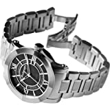 Montegrappa NeroUno Brushed Stainless Steel Automatic Watches