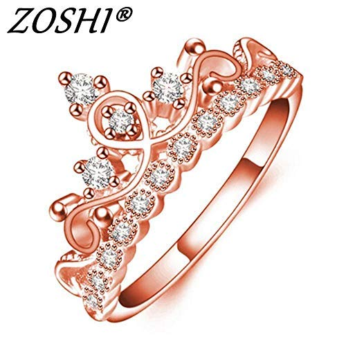 Unknown Inc Female Wedding Jewelry Rose Gold Color