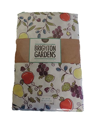 Brighton Gardens PEVA Tablecloth - Fruit Vine Pattern (52