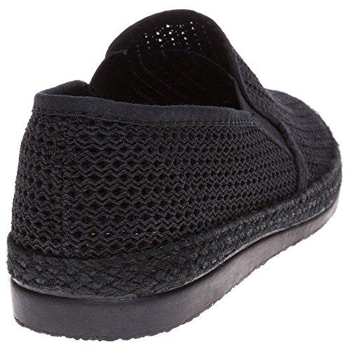 Sole Buckly Herren Schuhe Schwarz Black