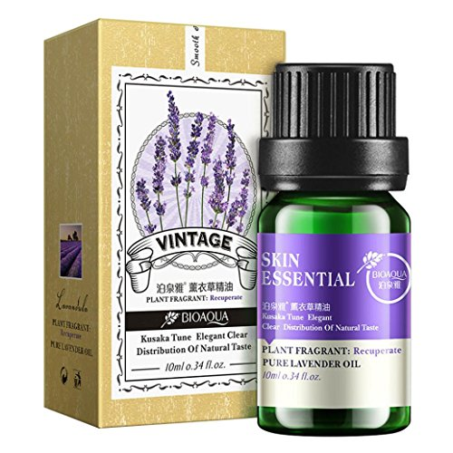 Price comparison product image Besde Essential Oils 10ml Humidifier Of Plant Essence Of Water Soluble Aromatherapy Oils (Lavender)