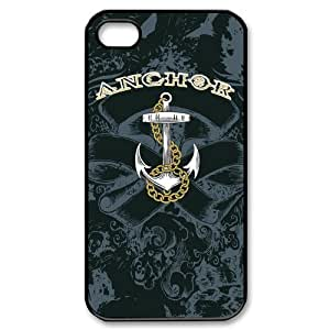 Custom Anchor Hard Back Cover Case for iPhone 4 4S CY1330