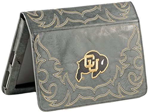 NCAA Colorado Buffaloes Col-IP015University of Colorado iPad 2 Cover, Black, One Size by Gameday Boots