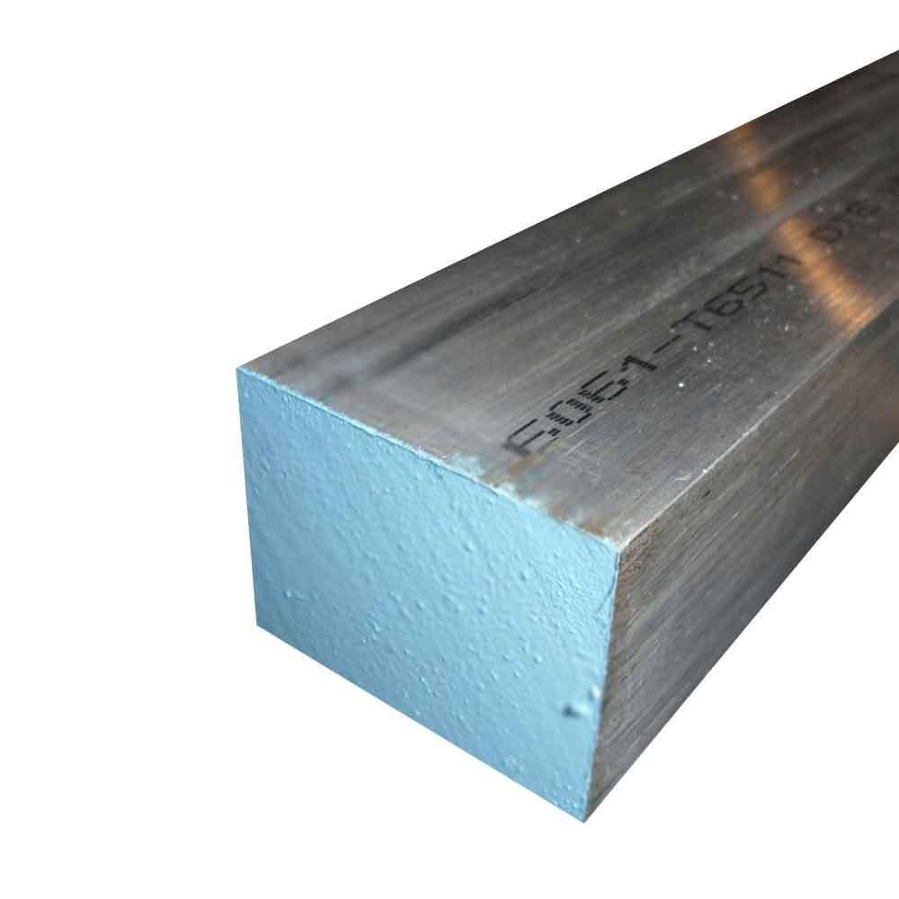 """3//4/"""" x 3//4/"""" x 24/""""-Long 6061 T651 Aluminum Square Bar--/>.750/"""" 6061 Square Bar"""