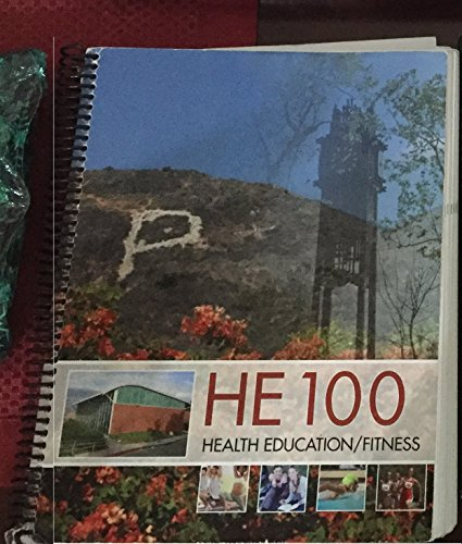 HE 100 Health Education/Fitness, Palomar College Edition (Connect Core Concepts in Health)